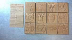 Door plaques carved for doors of Hotel bedrooms